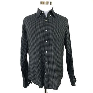 Vince Mens long sleeve button up size large